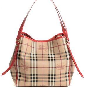 Burberry  Haymarket Canterbury handbag